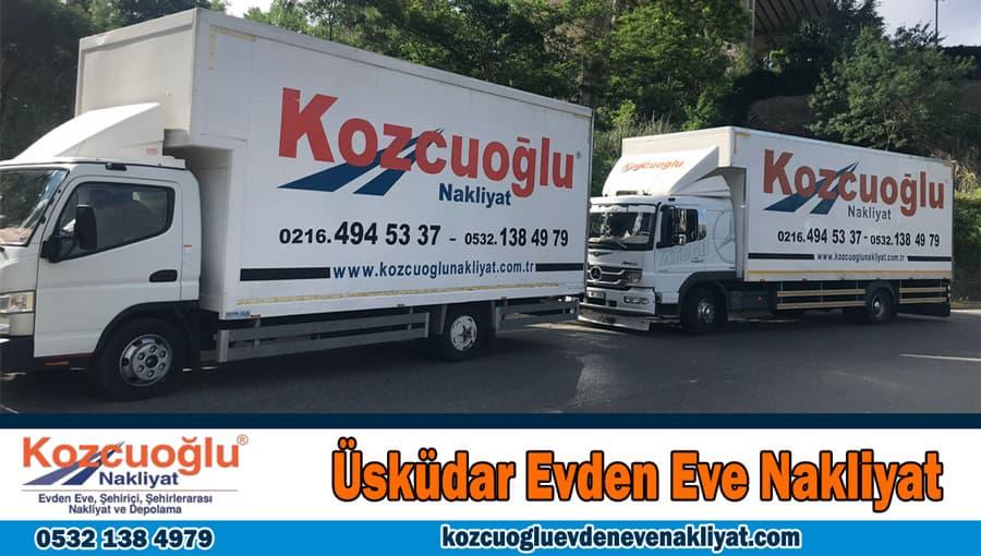 Üsküdar evden eve nakliyat İstanbul Üsküdar nakliyat ev taşıma firması